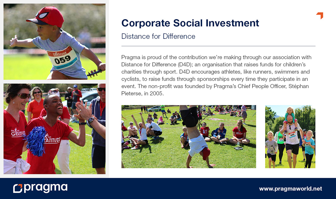 Corporate Social Investment - Distance for Difference