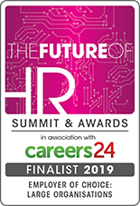 2019 FOHR finalist badge Employer of Choice Large Organisation