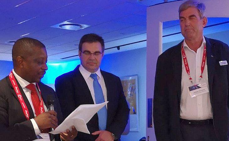 Adriaan Scheeres receives SAAMA's Individual Achievement Award