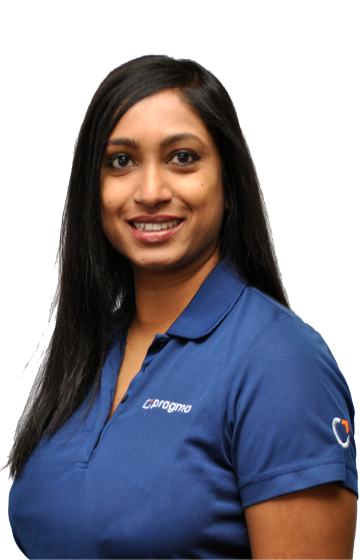 Justine Pillay, Business Area Manager